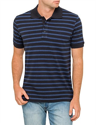 Gary Stripe Polo