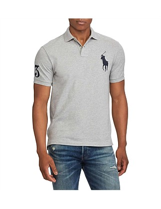261a36ba16 Men s Custom Slim Fit Mesh Polo