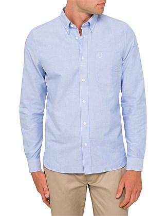 CLASSIC OXFORD LONG SLEEVE CASUAL SHIRT