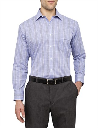 CLASSIC FIT PRINCE OF WALES CHECK SHIRT