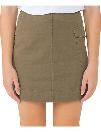 CECILE UTILITY SKIRT