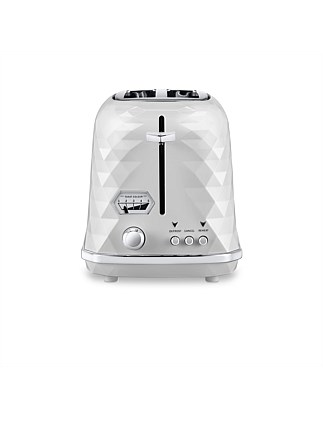 CTJX2003W Brillante Exclusive 2 Slice Toaster - White