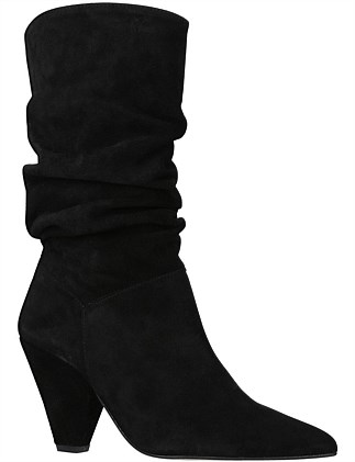 CARVELA-SCRUNCH-BLACK
