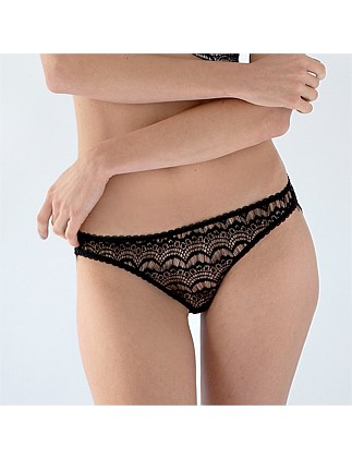 Bisou Bisou Sugar Mesh Back Knicker