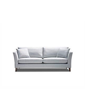 'Brighton' 3 Seater Sofa - Gravity Ice Fabric
