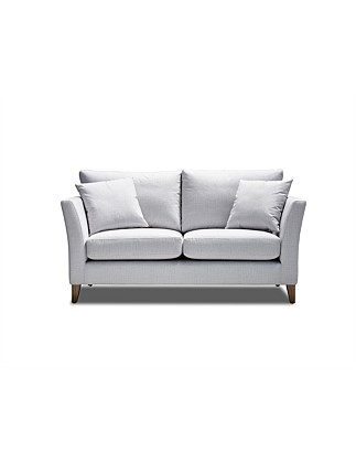 'Brighton' 2 Seater Sofa - Pulsar Ice Fabric