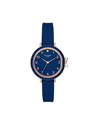 Park Row Silicone Blue Watch