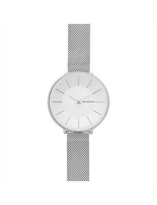 Karolina Steel-Mesh Watch