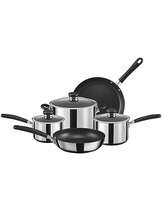 Ultimum Stainless Steel Non-Stick 5 Piece Cookware Set
