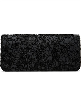 LACE BAG/GROSGRAIN