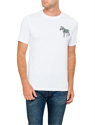 PS by PAUL SMITH Reg Fit Zebra SS T-Shirt