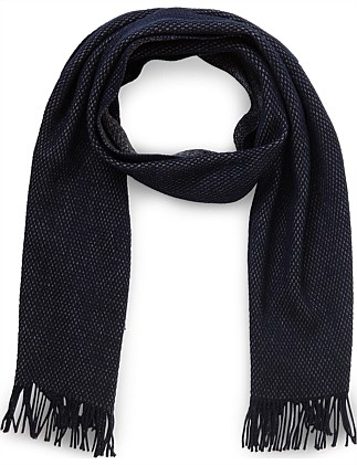 Albas 100% Wool Knitted Scarf