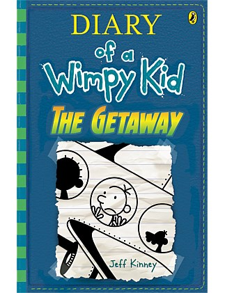 The Getaway - Diary of a Wimpy Kid Book 12 - Hardback