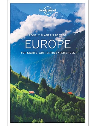 Best of Europe Travel Guide - 1st Edition