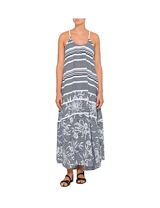 Del Sol Scoop Maxi Dress