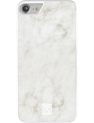 Moyork STONE Marble Case for iPhone 7 Swan White