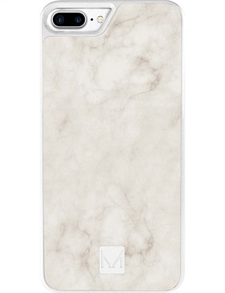 Moyork STONE Marble Case for iPhone 7 Plus Swan White