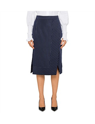 JUDE STRIPE SKIRT