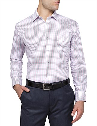 MULTI COLOUR GRID CHECK CLASSIC FIT SHIRT