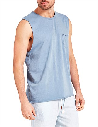 Blizzard Wash Muscle Tee