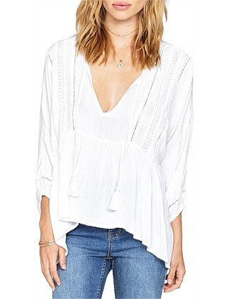 Cool Breeze Woven Top