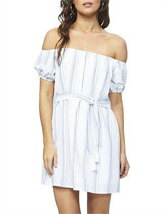 Coasting Off Shoulder Dress