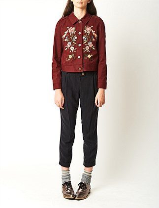 Parachute cropped trouser