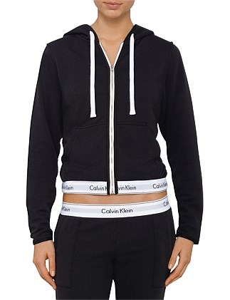 Modern Cotton Loungewear Full Zip Hoodie