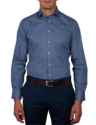 PRESENA PRINT SLIM FIT SHIRT