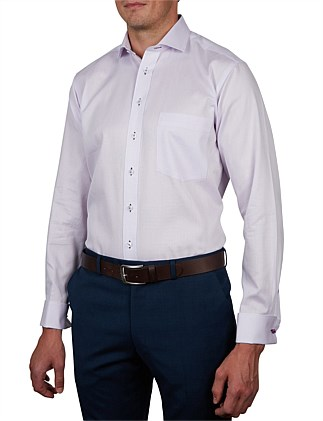 TONALE DOBBY CLASSIC FIT DC SHIRT