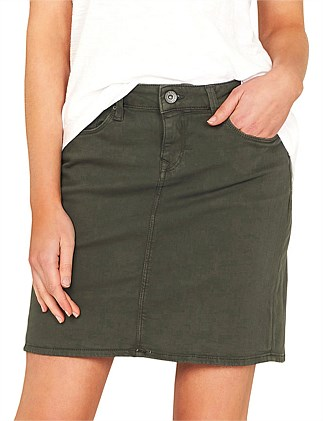 Alice Twill Mini Skirt