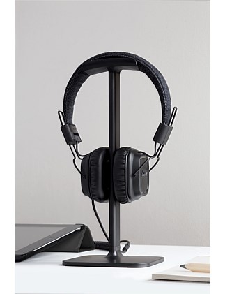 BLUELOUNGE POSTO HEADPHONE STAND BLACK