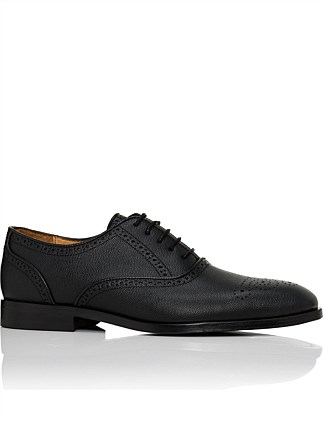 Gilbert grained leather oxford