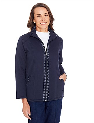 Mckay Snowy Mt Fleece Jacket