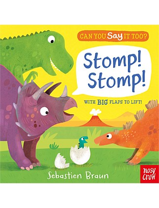 Stomp Stomp - Can You Say it Too Book