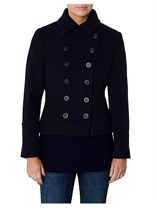 Ravello Melton Coat