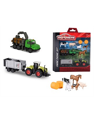 MAJORETTE FARM THEME SET