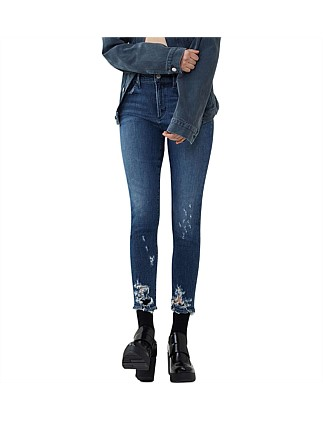 Sophie High Rise Skinny With Distruction