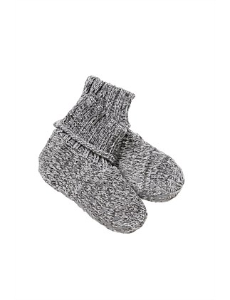 Knit Bootie