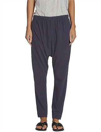 Pannelled Slouch Jersey Pant