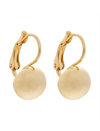 SINGLE BALL DROP EARRING
