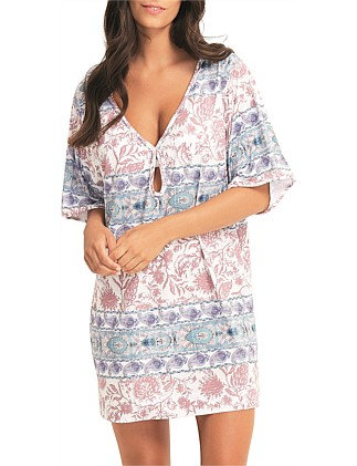 Pushkar Paisley Jersey Dress