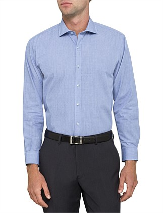 DOBBY MICRO CHECK EURO FIT SHIRT