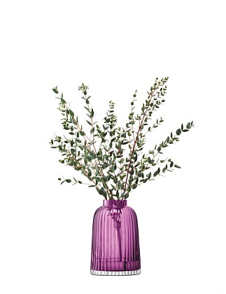 Pleat Vase Heather 20cm