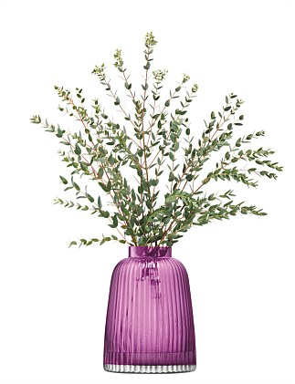 Pleat Vase Heather 26cm