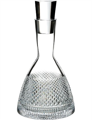 Waterford Diamond Line Decanter