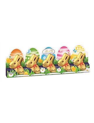 Mini Gold Bunny 5 Pack