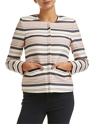 Begonia Stripe Jacket