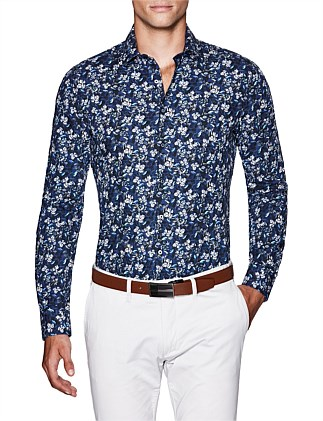 Paden Slim Fit Floral Shirt