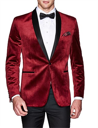 Sorren Slim Tailored Velvet Jacket